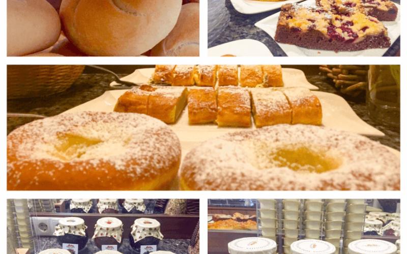 Büffet im Restaurant in Wolfsthal – Frühstück und mehr